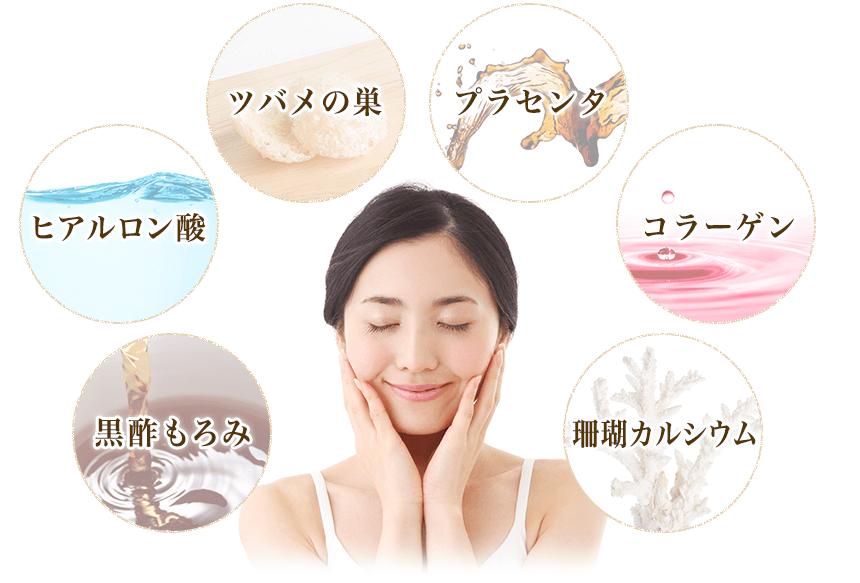 美容成分が豊富に配合されているベルタ葉酸
