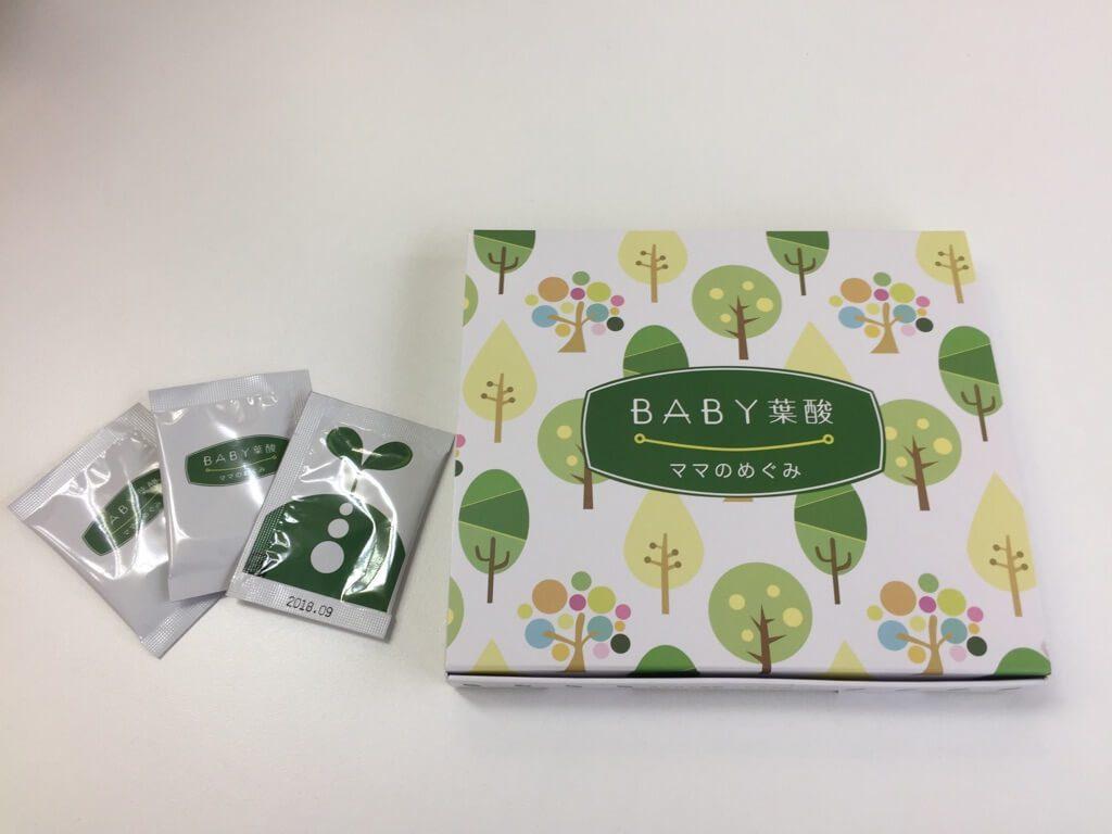 BABY葉酸ママのめぐみの特徴