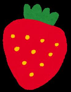 妊娠3ヶ月後の胎児はイチゴくらいの大きさにまで成長します