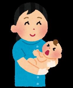 赤ちゃんを取り上げた助産婦さん