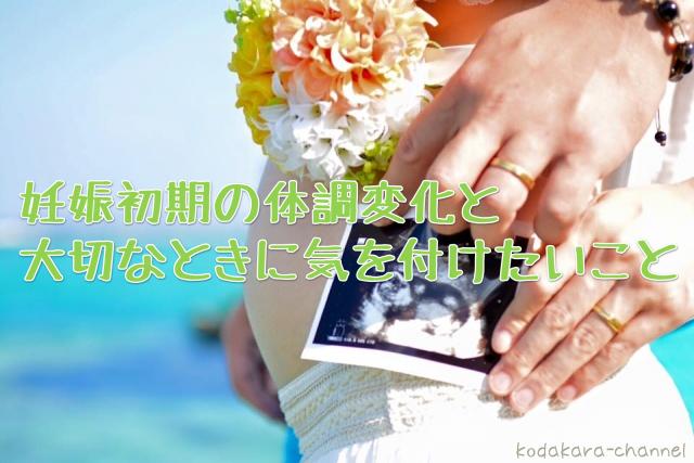 妊娠初期の体調変化とデリケートな時期に気を付けたいことまとめ