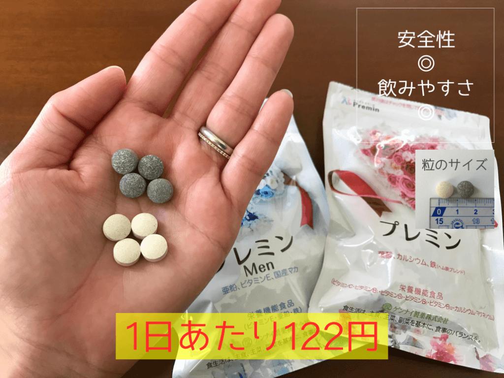おすすめ葉酸サプリ プレミン